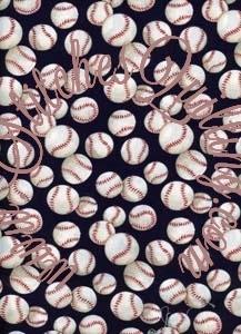 Baseball Fabric Alexander Henry