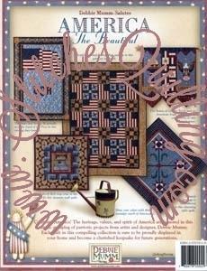 America the Beautiful Debbie Mumm Quilt Book : debbie mumm quilt books - Adamdwight.com