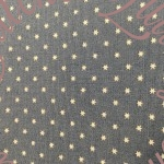 Moda Vintage Workshop Tiny Cream Stars Blue Fabric Indygo Junction