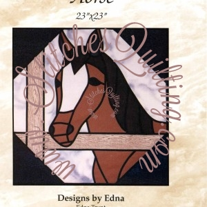 Pt Stained Glass Horse