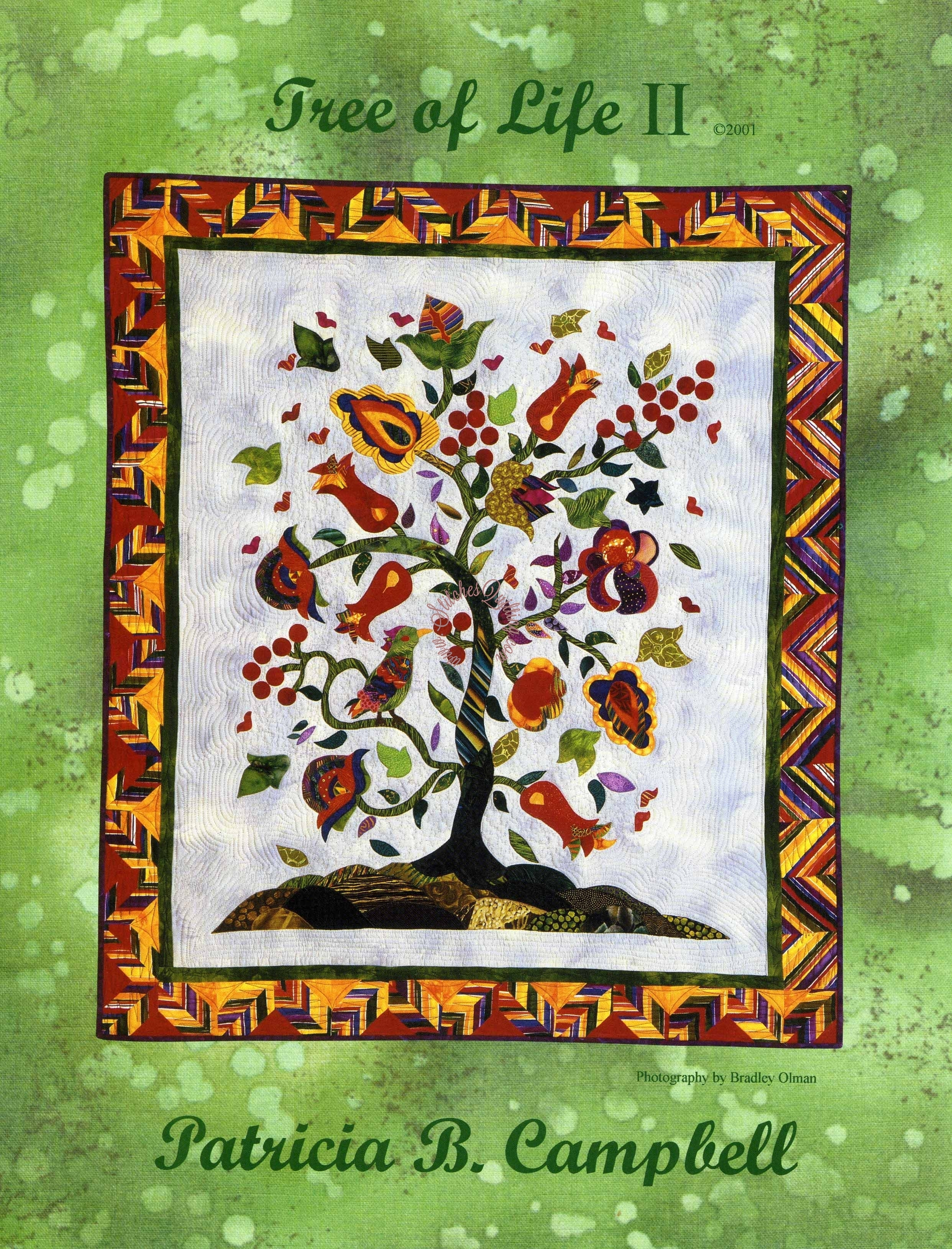 Tree Of Life Ii Quilt Pattern Patricia B Campbell
