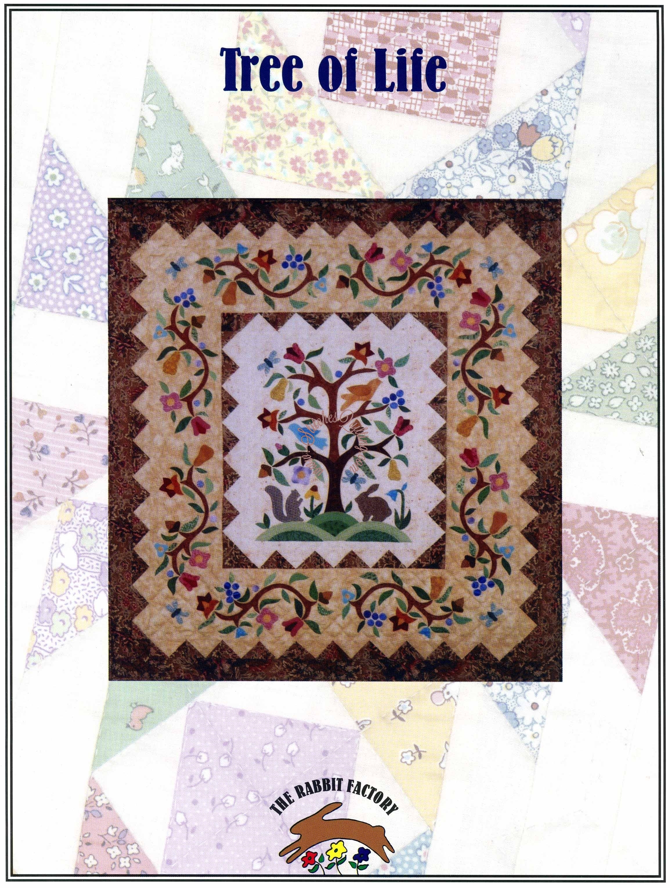 Tree Of Life Quilt Pattern Lydia Quigley The Rabbit