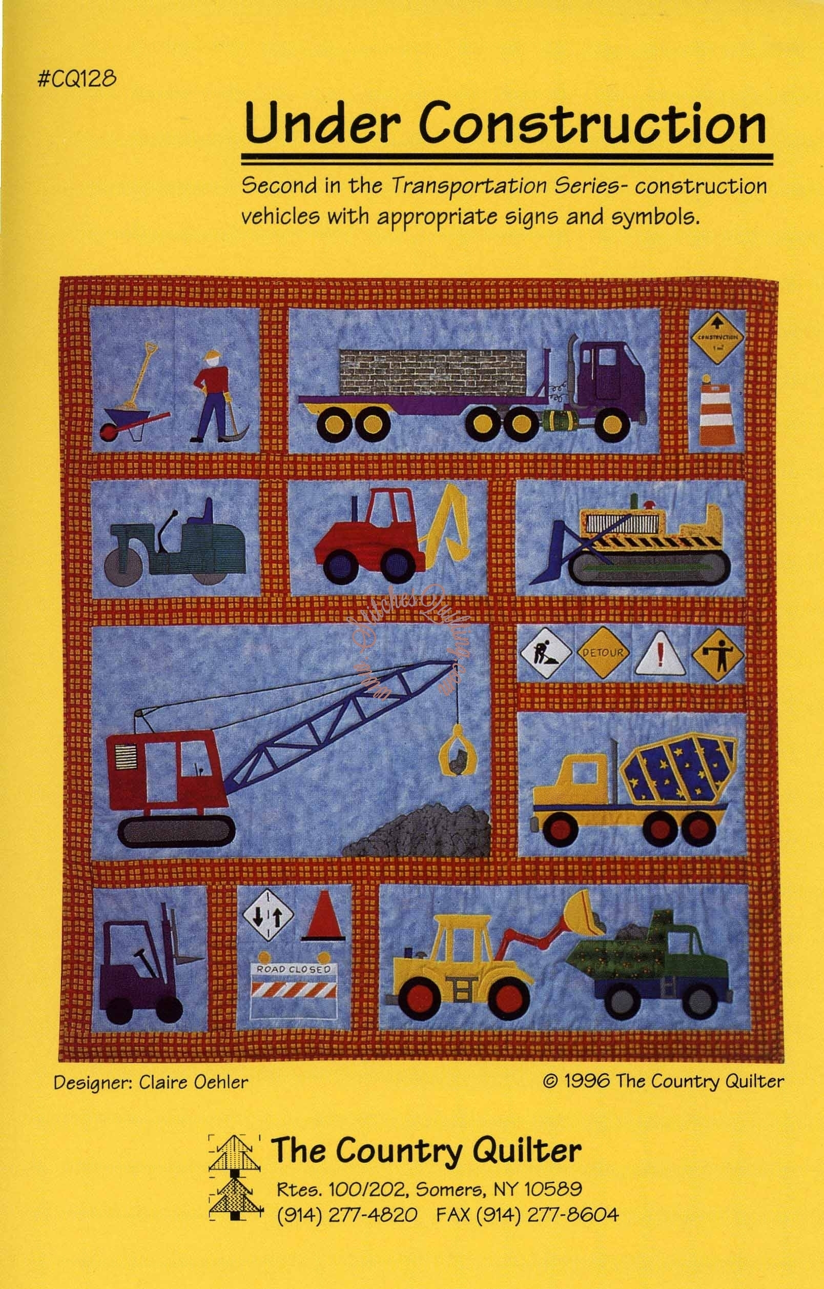 Under Construction The Country Quilter Stitches Quilting