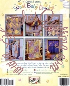 Sweet Baby Dreams Debbie Mumm Quilt Book Stitches Quilting