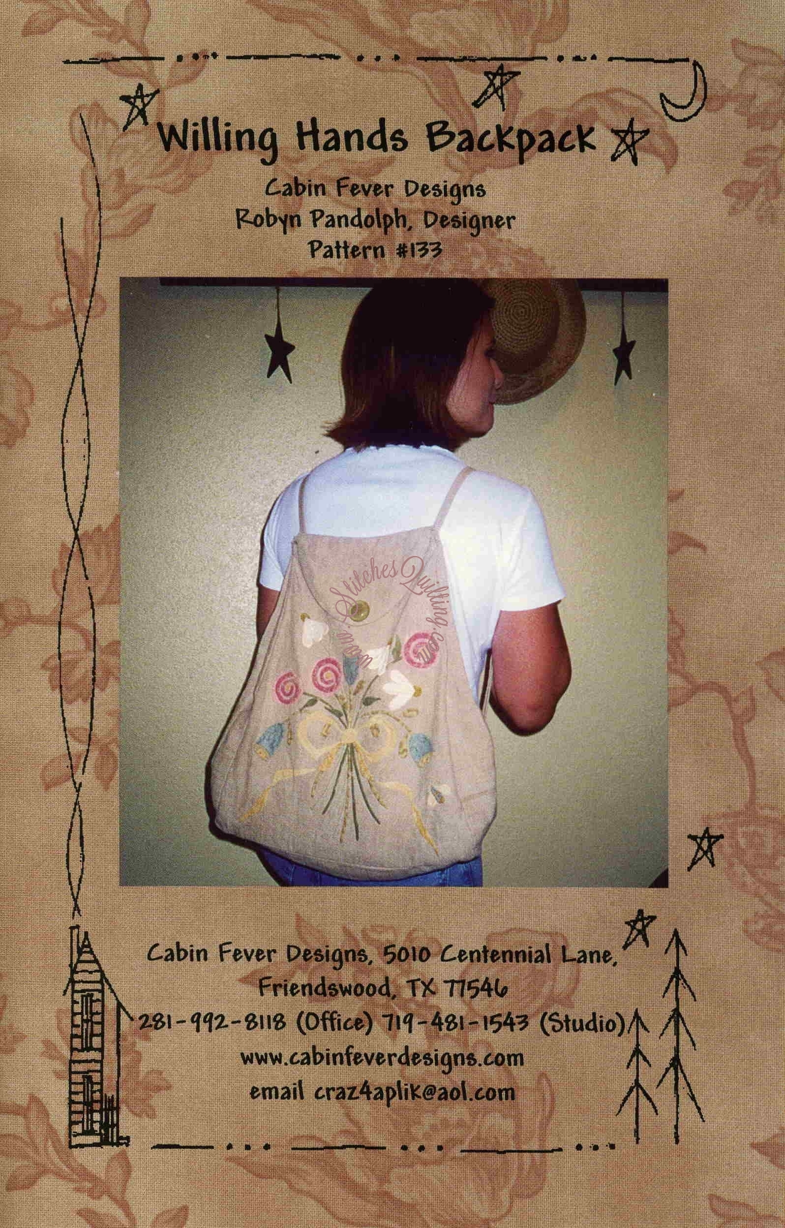 Willing Hs Backpack Cabin Fever Designs Robyn Pandolph