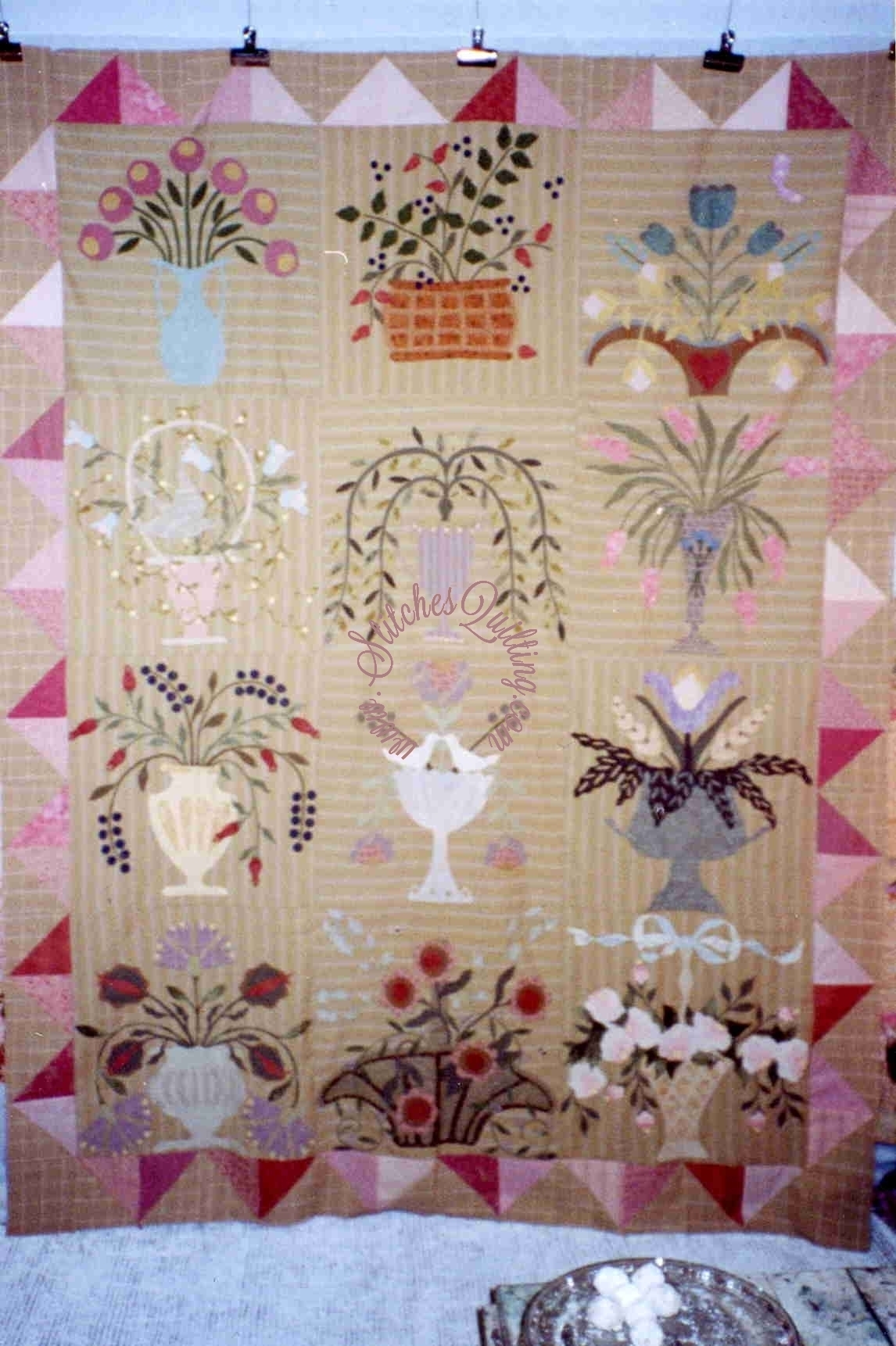 RARE Botanika Hand Applique Pattern FOR SALE Robyn Pandolph