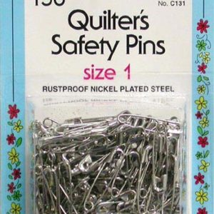 Quilter's Safety Pins Size 1 150 Count