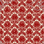 sparkle lost found red damask