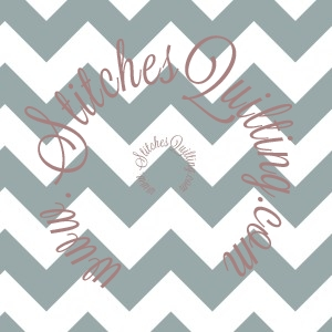 Gray Small Chevron Fabric Riley Blake C340-40
