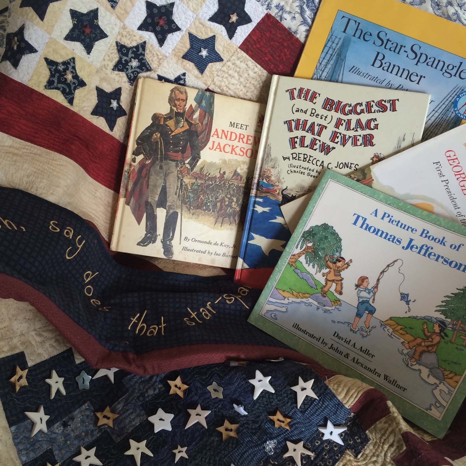 Americana Books to Read to your Childern to teach history