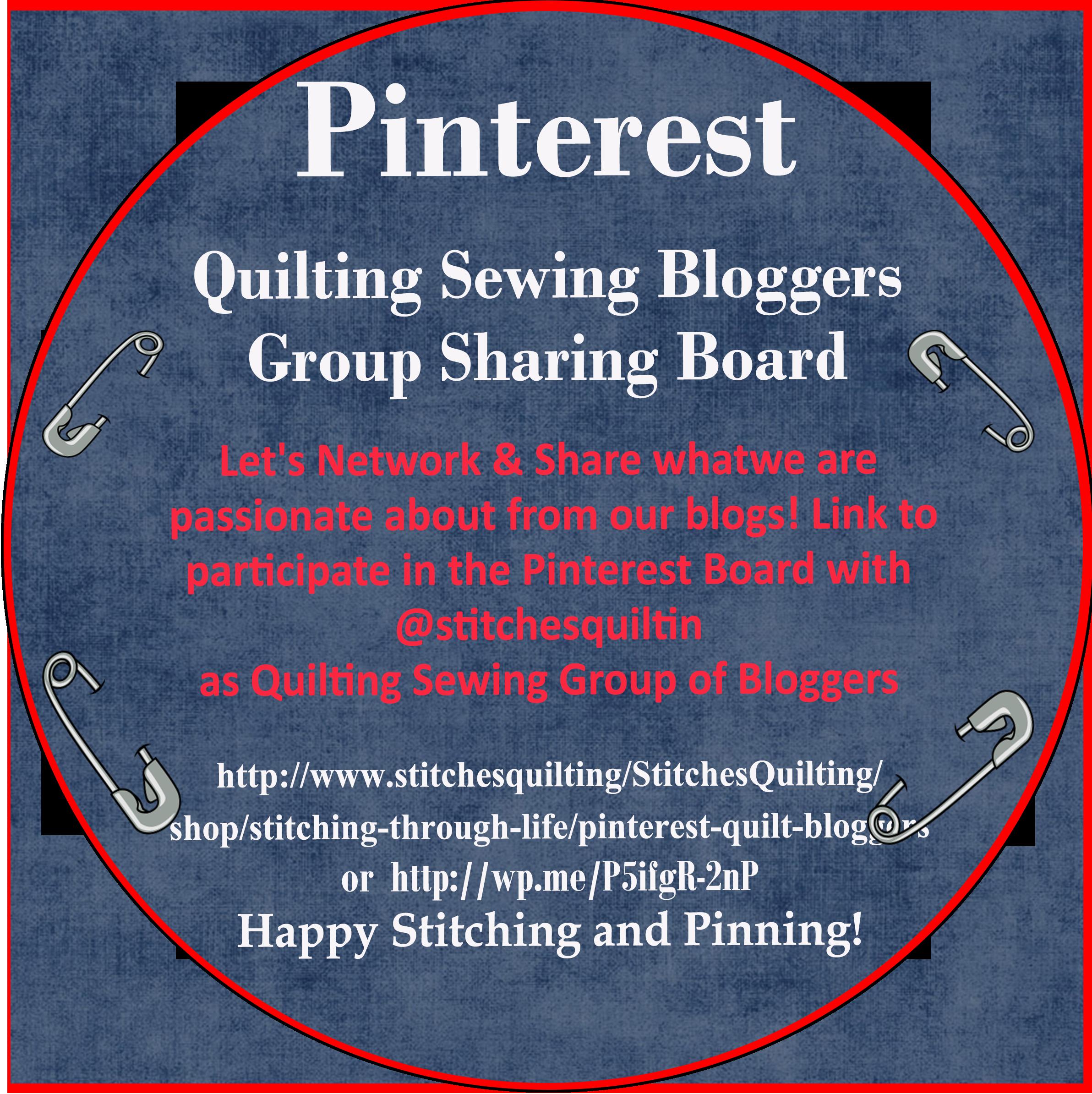 Pinterest-Quilt-Blogger Group