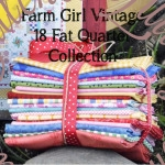 18 Fat Quarter Kit for the Farm Girl Vintage Quilt Book by Lori Holt