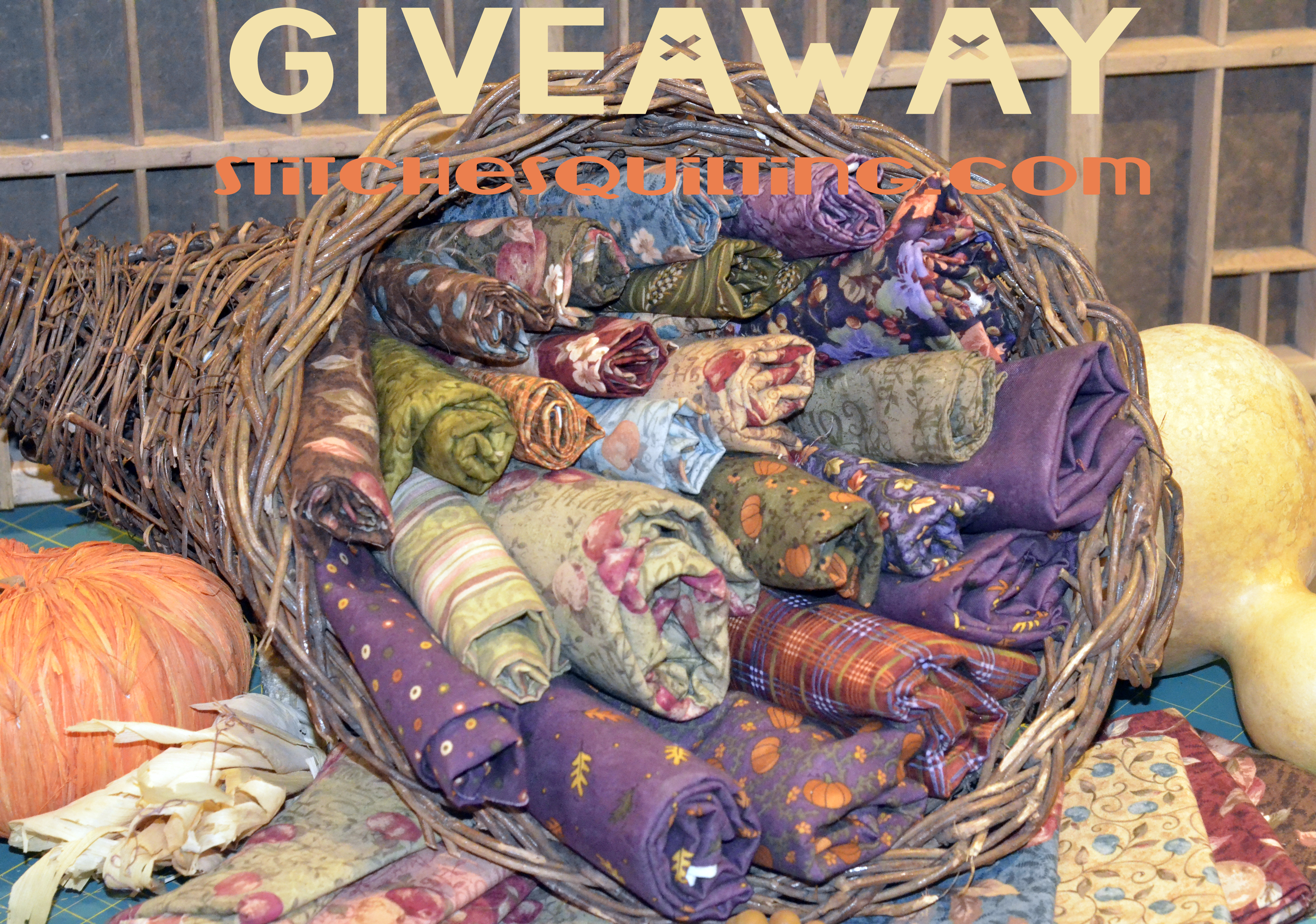 Black Friday Stitches Quilting Fabric Giveaway