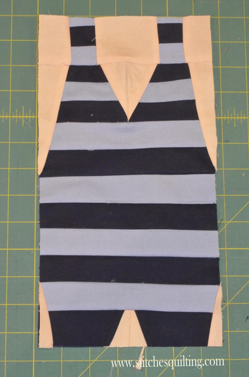 Mens Vintage Swim Suit Quilt Pattern