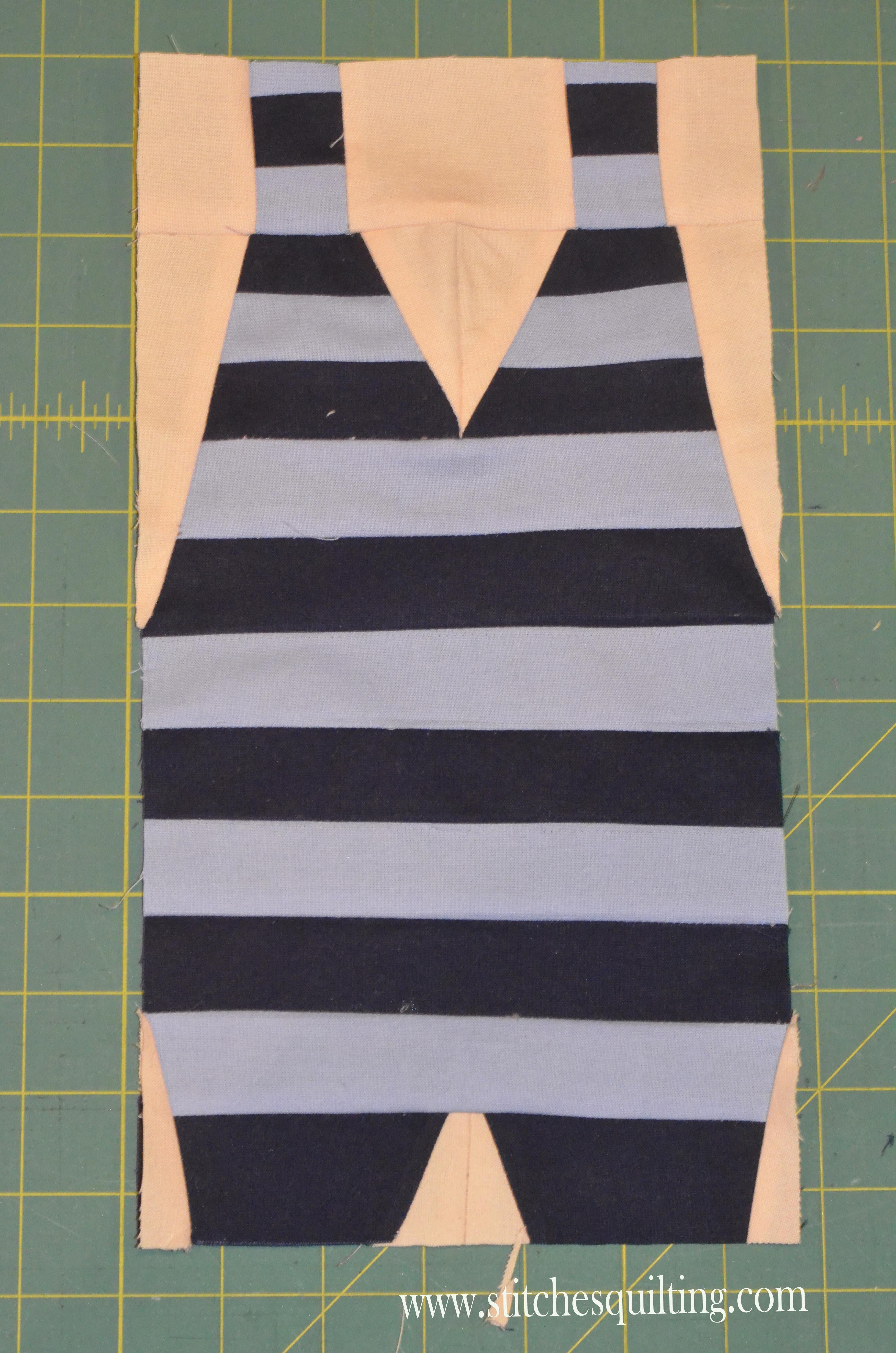 Mens Vintage Swim Suit Quilt Pattern Stitches Quilting