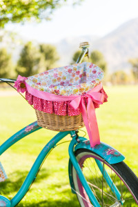 I want to put my creative sewing energy into making this darling bicycle basket liner for this summer whether its for me, my children or grandchildren!
