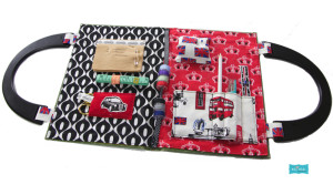 Need to make this British Invasion Sewing or Toiletry Kit before my next trip!