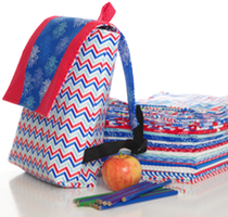 Need to make this trendy bag to sport around! Excellent for myself or a gift to make from the Star Spangled Fabric Collection with Doodle Bug Designs Riley Blake