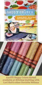 Aurifil Happy Colors Thread Lori Holt