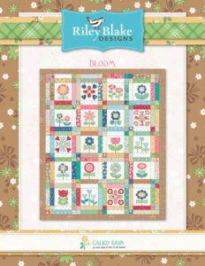 Calico Days by Lori Holt free Bloom Quilt Pattern with Purchase of Fat Quarter Bundle