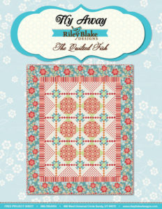 Free Fly Away Quilt Pattern Download with purchase of Flutter fabric from Stitches Quilting