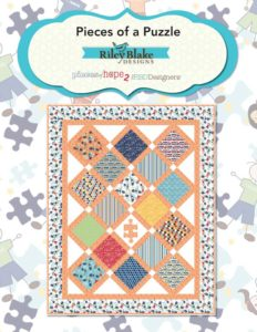 Free Quilt Pattern Download with Purchase Autism Pieces of Hope Fabric