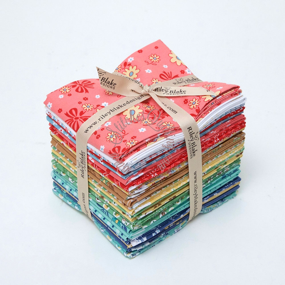 Calico Days Fabric Fat Quarter Bundle Lori Holt Bee In My