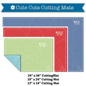 Cute Cuts Cutting Mats by Lori Holt of Bee In My Bonnet
