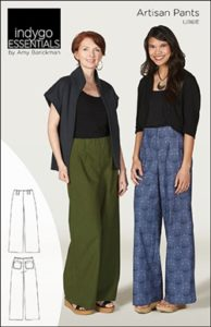 Indygo Essentials Artisan Pants Sewing Pattern