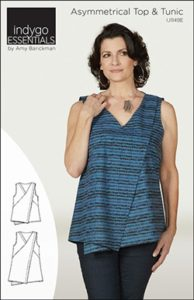Indygo Essentials Asymmetrical Top & Tunic Sewing Pattern