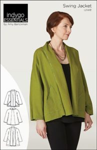 Indygo Essentials Swing Jacket Sewing Pattern