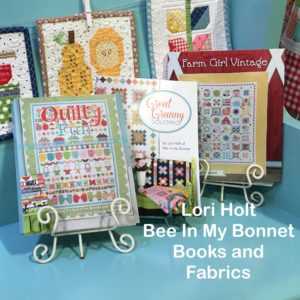 Lori Holt Bee In My Bonnet Quilt Books and Fabrics