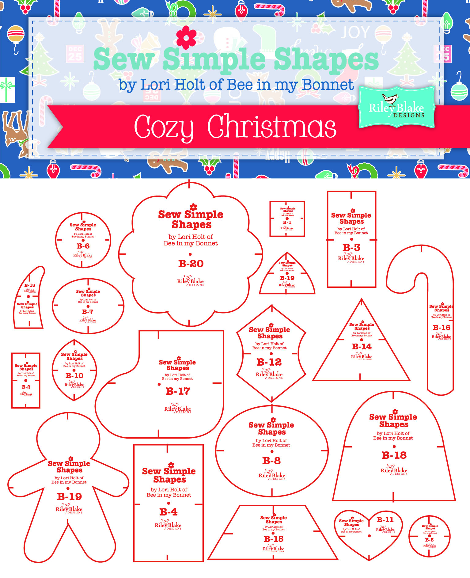 Sew Simple Shapes Cozy Christmas Lori Holt
