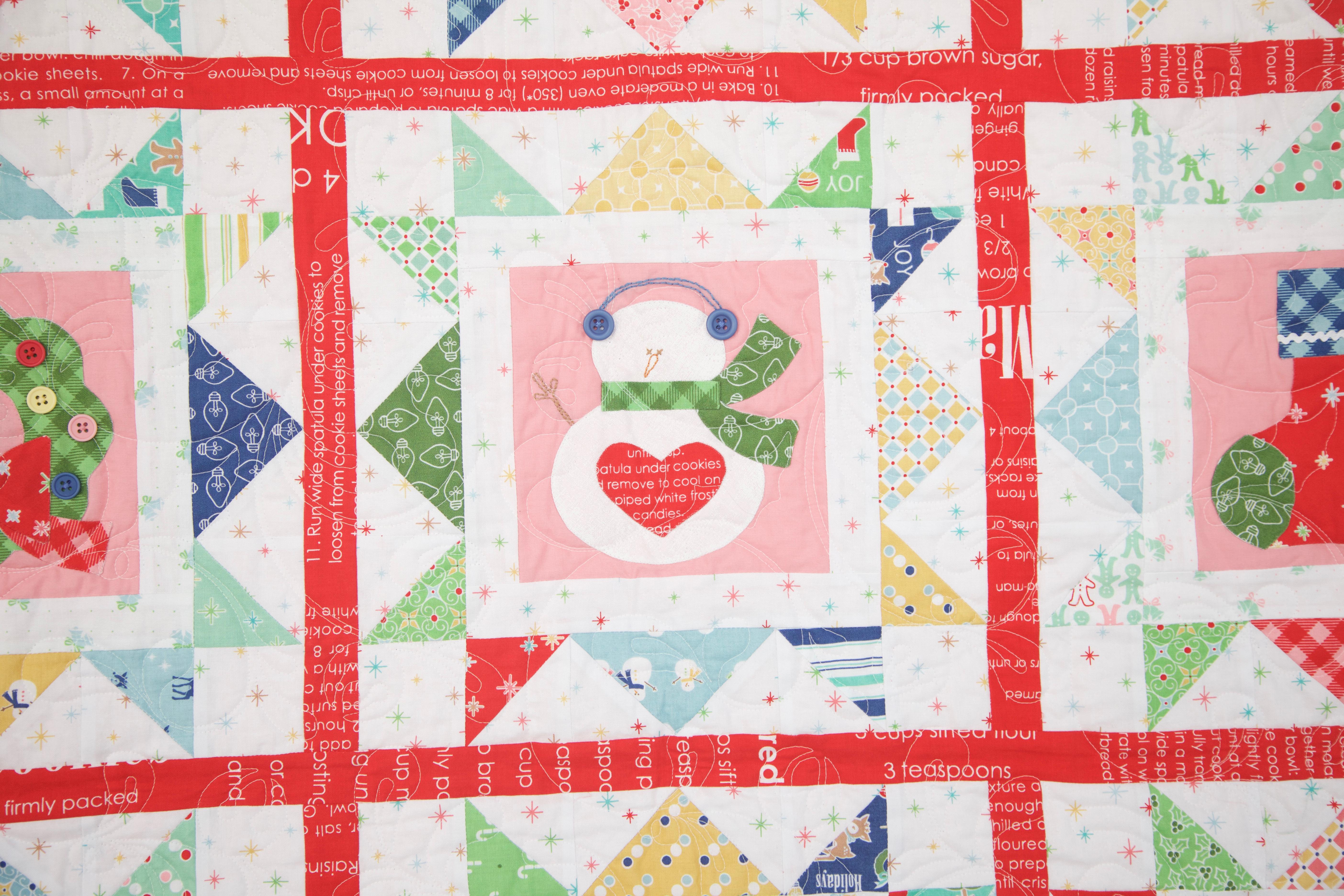 Cozy Christmas Fat Quarter Bundle Lori Holt