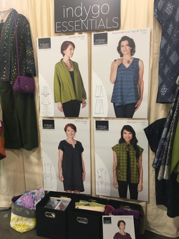 Indygo Essentials Comfortable Clothing Patterns Launched by Indygo Junction with Amy Barickman