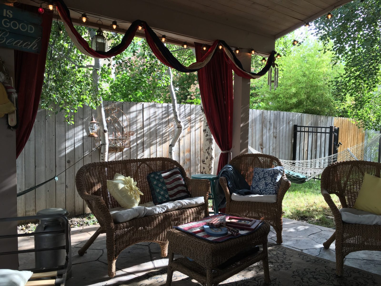 Americana Outdoor Patriotic Decor for Patio
