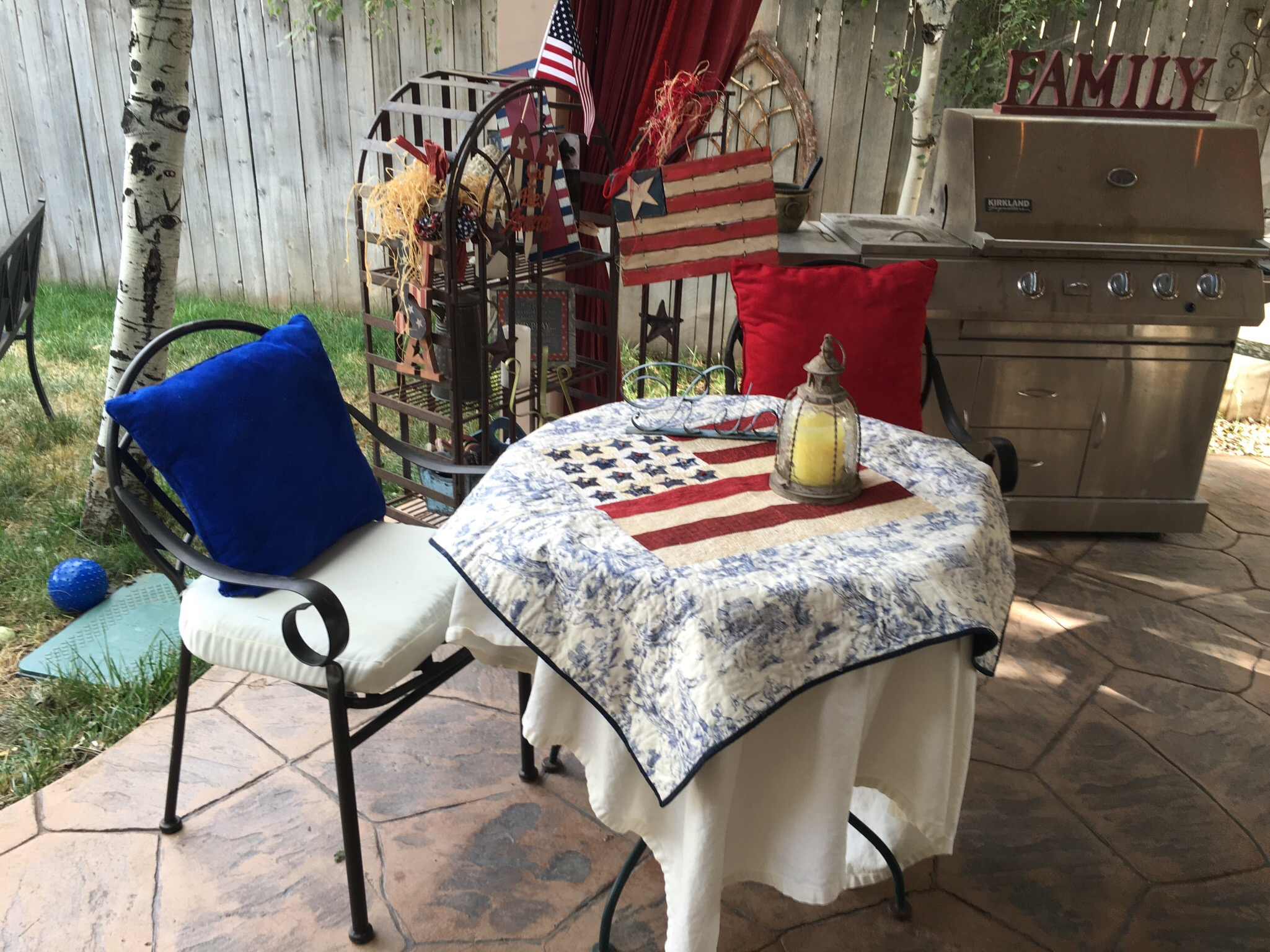 Americana Home Decor American Flag Quilt