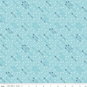 Lori Holt Modern Minis C4763 Blue Riley Blake Fabric