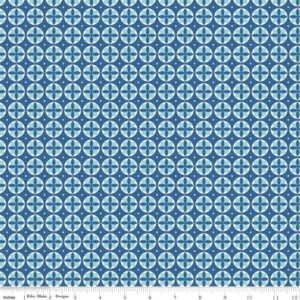 Lori Holt Modern Minis C4764 Blue