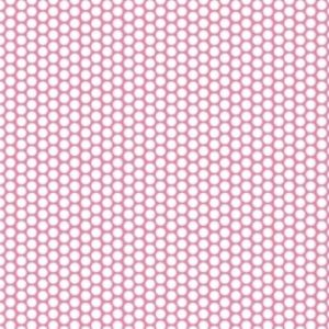 Riley Blake Honeycomb Dot Hot Pink C680-70