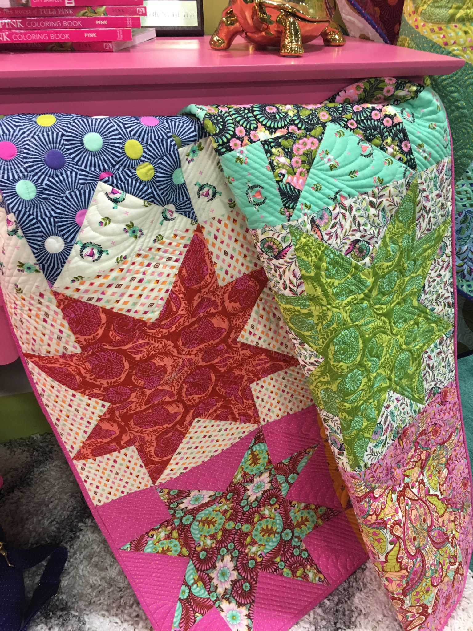 Slow and Steady Star Quilt