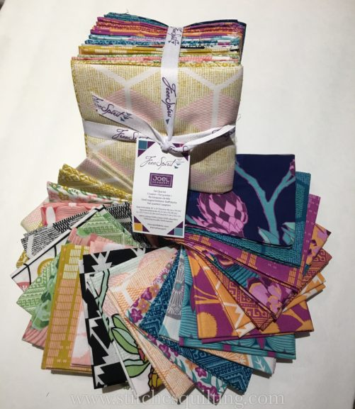 Joel Dewberry Cali Mod Fat Quarter Bundle in Moonrise Free Spirit Fabrics 3990
