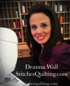 Deanna Wall at Stitches Quilting