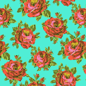 Amy Butler Fabric Eternal Sunshine Pwab160-rose-lore-sky