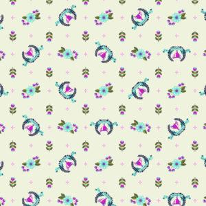 Winners Circle Blue Raspberry Tula Pink Slow and Steady Free Spirit Fabrics PWTP089