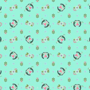 Winners Circle Strawberry Kiwi Tula Pink Slow and Steady Free Spirit Fabrics PWTP089