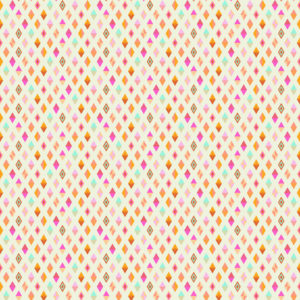 Track Flags Orange Crush Tula Pink Slow and Steady Free Spirit Fabrics PWTP090