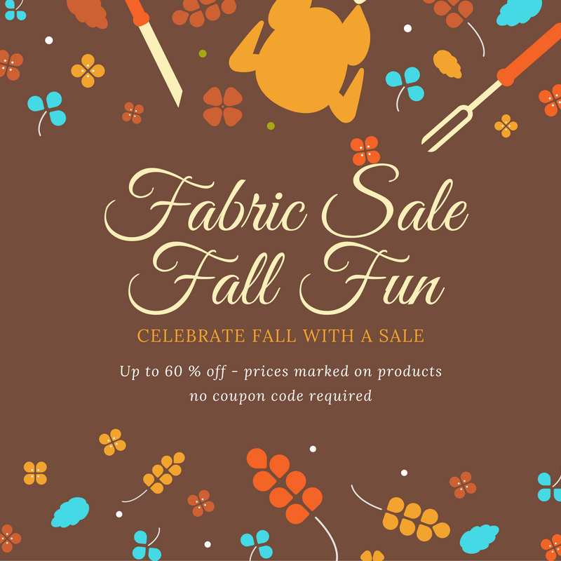 Stitches Quilting Fall Sale