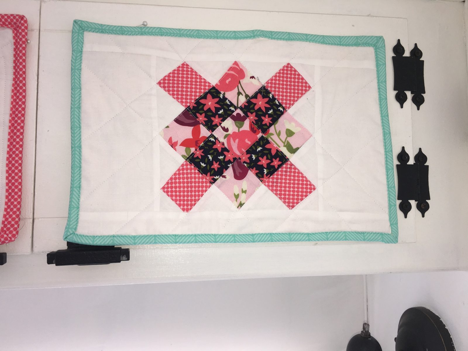 Posy Garden Block Mini Quilt Carina Gardner Riley Blake