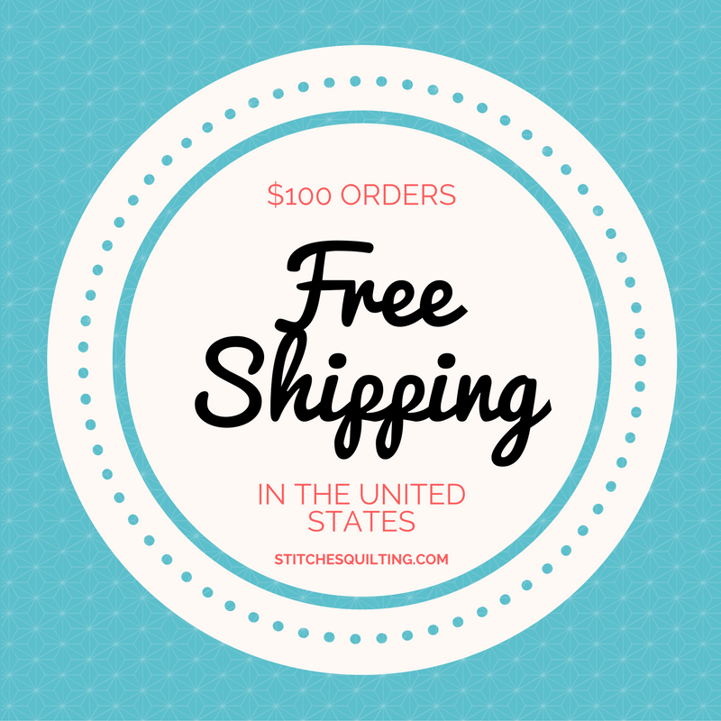 Stitches Quilting Free Shipping